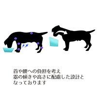 犬食器陶器犬用食器台いぬ食事フードボウル猫餌入れ猫用水入れペットねこ皿ペット用器