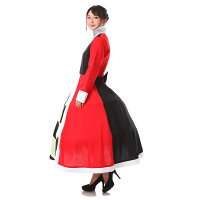 ハートの女王コスプレドレス衣装仮装アリス女王コスチュームコス