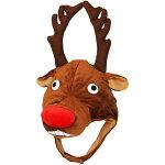 トナカイコスプレ帽子おもしろサンタ鹿着ぐるみクリスマス仮装コスクリスマスコス衣装