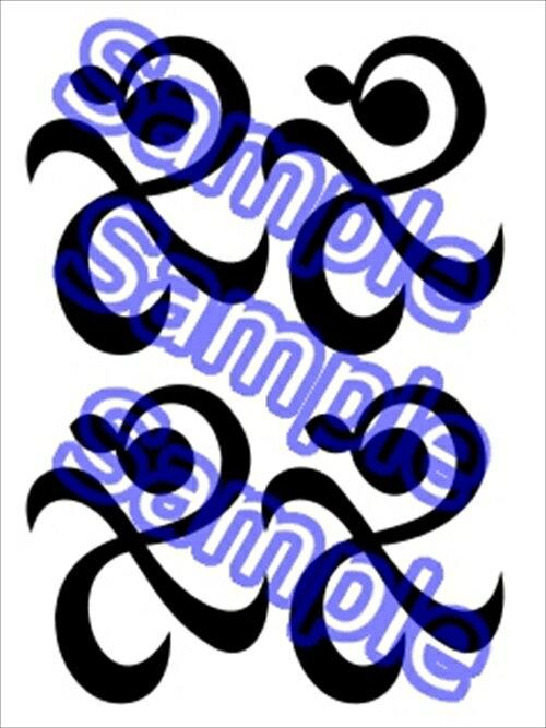 產品詳細資料,日本Yahoo代標|日本代購|日本批發-ibuy99|ONE PIECE ワンピース ナミ コスプレ用タトゥーシール(黒)