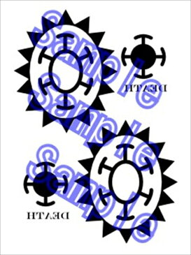 ONE PIECE ワンピース トラファルガー・ロー コスプレ用タトゥーシール