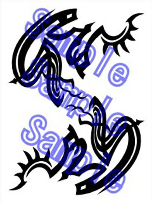 CANAAN カナン アルファルド コスプレ用タトゥーシール画像