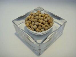 送料無料カンポットペッパー(有機栽培)ホワイトペッパーホールラミジップ入り25gオーガニックコショウカンボジアコショウカンボジア胡椒