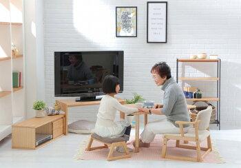 【送料無料】LotonLivingTableテーブルデスク机天然木半円継ぎ脚高さ調整和室日本和風茶室シンプル座敷お茶会