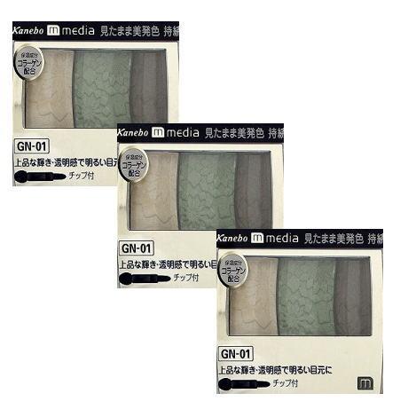 ベースメイク・メイクアップ, アイシャドウ 3 (media) GN-01