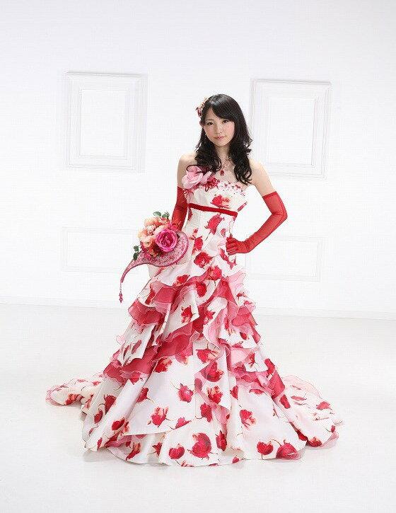ドレス ウェデイングドレス 送料無料レンタルドレス ドレス結婚式ドレスレンタル カラードレス花嫁 kr-007