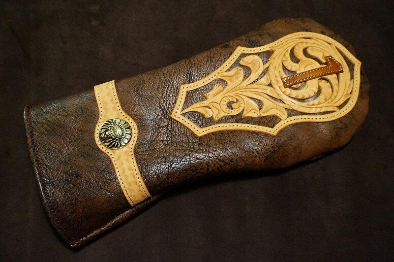 ●Hugcovers/ハグカバーズ ヘッドカバーhc 3rd anniversary model  「The Leather Craft / 1st 」5点セット(1・3・5・X・XX)