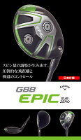 ●キャロウェイゴルフGBBEPICSUBZEROフェアウェイウッド[日本仕様]SpeederEVOLUTIONforGBBシャフト