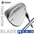 ●クリーブランドゴルフRTX-3 BLADE ツアーサテン ウェッジ[日本仕様]N.S.PRO 950GH スチールシャフト