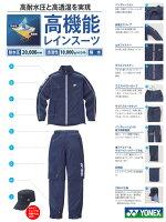 ●ヨネックスウェア【男女兼用】レインスーツGWT9005