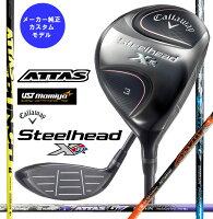 ●キャロウェイゴルフSteelheadXRFairwaywoodsスティールヘッドXRフェアウェイウッド[日本仕様]SpeederEVOLUTIONIIIFW60シャフト