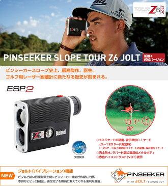●Bushnell Golf/ブッシュネル ゴルフゴルフ用レーザー距離計 ピンシーカースロープツアーZ6ジョルト