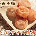 【紀州南高梅】毎日一粒ちょうどいい食べ切りサイズ『白干梅500g  小粒サイズ』【すっぱいしょっぱい梅干】