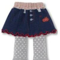 【送料無料】スカート付スパッツ2枚組★赤系+紺系★こだわりの一品!05P20Sep14