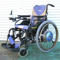 【送料無料】中古ヤマハJWアクティブP-TYPE2006年モデル新品バッテリー付き!※発送までに10日程かかります※(電動車いす/車椅子/介護/介助/ジョイスティック)【中古】