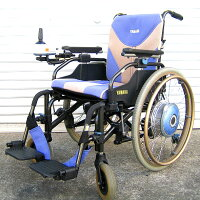 【送料無料】中古ヤマハJWアクティブP-TYPE2006年モデル新品バッテリー付き!(電動車いす/車椅子/介護/介助/ジョイスティック)【中古】