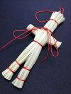 小さい紅い紐の藁人形送料無料