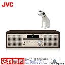JVC コンポ NX-W30 ニッパー 置物 13cm セット | Bluetooth搭載 コンパクトコンポ CD USB ワイドFM スマ...