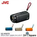 【3年延長保証】ランキング1位 JVC Everio R ビデオカメラ ブラック ブルー オレンジ ベージュ 60倍ズーム Wi-Fi 防水 防塵 耐衝撃 長時間バッテリー GZ-RX670・・・