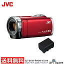 【アウトレット】JVC Everio ビデオカメラ 8GB 60倍ズーム バッテリー合計2個付 GZ...