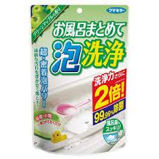 フマキラー株式会社お風呂まとめて泡洗浄 230g グリーンアップルの香り【北海道・沖縄は別途送料必要】