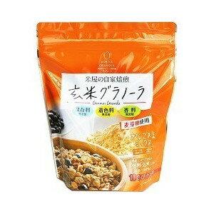 幸福米穀『玄米グラノーラ きなこ大豆ミックス』
