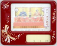 【送料無料】 ひな祭りオルゴール【北寿監修】 オルゴール付写真立て名姫札オルゴール 朱桜※名入れ対象外。※縦横兼用タイプ