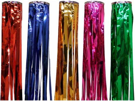 【七夕】七夕吹流しtf-0666尺メッキ単色吹き流し色目:赤・青・金・桃・緑長さ180cm※色目をお選び下さい。※上部の輪の色が変更になる場合があります。