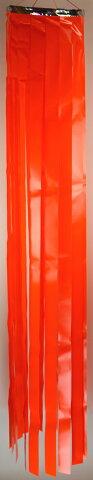 【七夕】七夕吹流しtf-1906尺ビニール単色吹き流し色目:赤・青・黄・桃・緑長さ180cm※色目をお選び下さい。