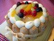★フルーツ盛り合わせ生ショートケーキ5号★商品2個以上の同梱包時、別途クール便代108円お願い致します