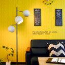 LED フロアライト スタンドライト スポット 3灯 丸型セード 北欧 ミッドセンチュリー レトロモダン デザイン おすすめ おしゃれ 間接照明 リビング ダイニング 店舗内装 電球 E26 AIR CORNO エアコルノ 024 aircorno024