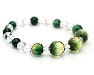 綠色石英 | 綠水晶手鏈 | 綠色石英 | 癒合綠綠的石英水晶手鏈高品質神秘 | 石 | 水晶 | 石 | 綠色石英 | 手鐲 | |