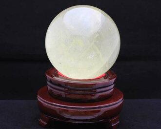 1分限定物西特林圓球|黄晶圓球西特林圓玉水晶圓球|西特林置玉|西特林圓球97mm圓球|天然的石丸硬幣|功率斯通圓球