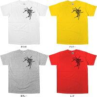 トライバル柄「Spider(クモ・蜘蛛)Type-B」Tシャツ(半袖Tシャツ)ハロウィンの衣装にも!am35
