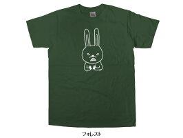 「キレうさぎ」ゆるキャラおもしろTシャツアニマルティーシャツおもしろtシャツ【SPUでP最大8倍】AM37