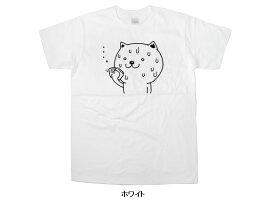 「滝汗ネコ」Tシャツ(半袖)猫ねこtシャツプレゼントギフトティーシャツおもしろおもしろtシャツcat23KOUFUKUYAブランド