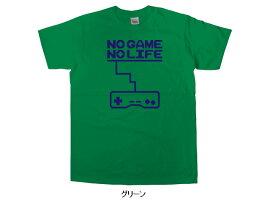 NOGAMENOLIFE(TypeA)おもしろtシャツ半袖おもしろTシャツゲーマーティーシャツOS17KOUFUKUYAブランド