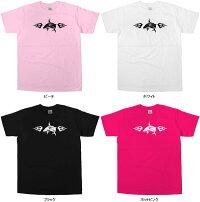 トライバル柄「WILDSHARK」Tシャツ(半袖Tシャツ)トライバル・タトゥーデザイン・当店オリジナルプリントTシャツRF09