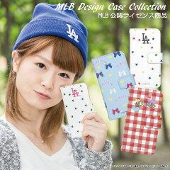 MLB公認ライセンス 手帳型 ガールズコレクション スマホケース MLB チーム マイアミ マリーンズ ニューヨーク ヤンキース メッツ ロサンゼルス ドジャース レッドソックス iPhone6S Plus XPERIA Z4 GALAXY S6 他 全機種対応 NY リュック ケース カバー ベースボール デザイン