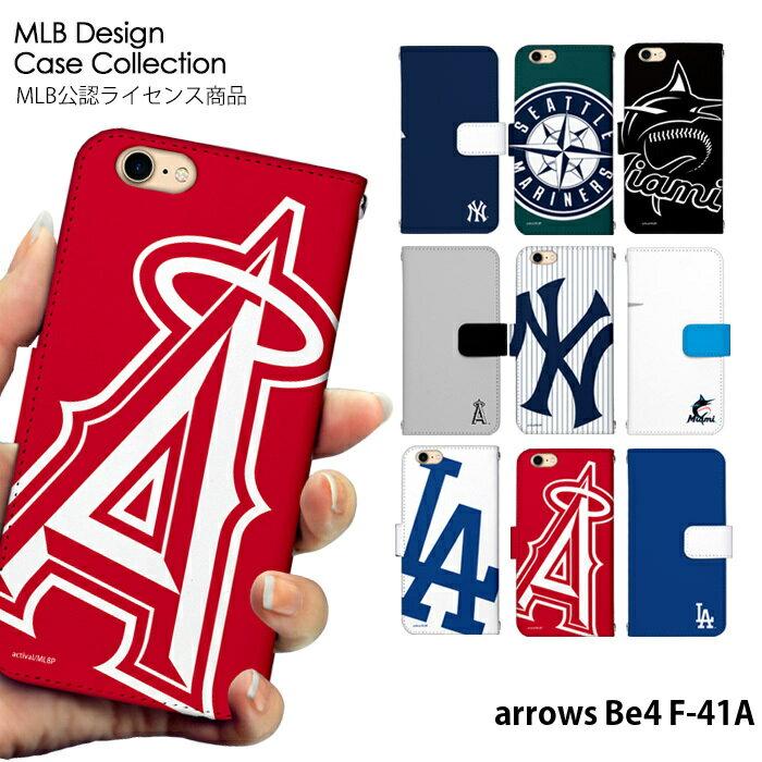 スマートフォン・携帯電話アクセサリー, ケース・カバー arrows Be4 F-41A f41a be4 f41a LA NY MLB