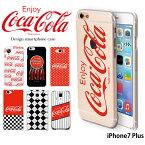 iPhone7 Plus ケース アイフォン ハード カバー iphone7p デザイン コカ コーラ COCA COLA
