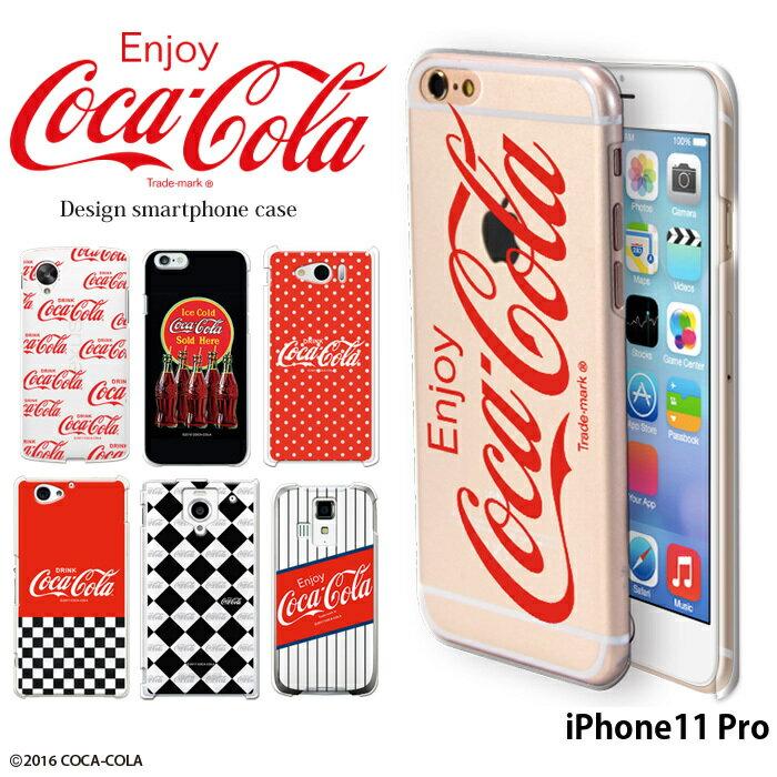 iPhone11 Pro ケース アイフォン11プロ 11pro ハード カバー デザイン コカコーラ coca cola