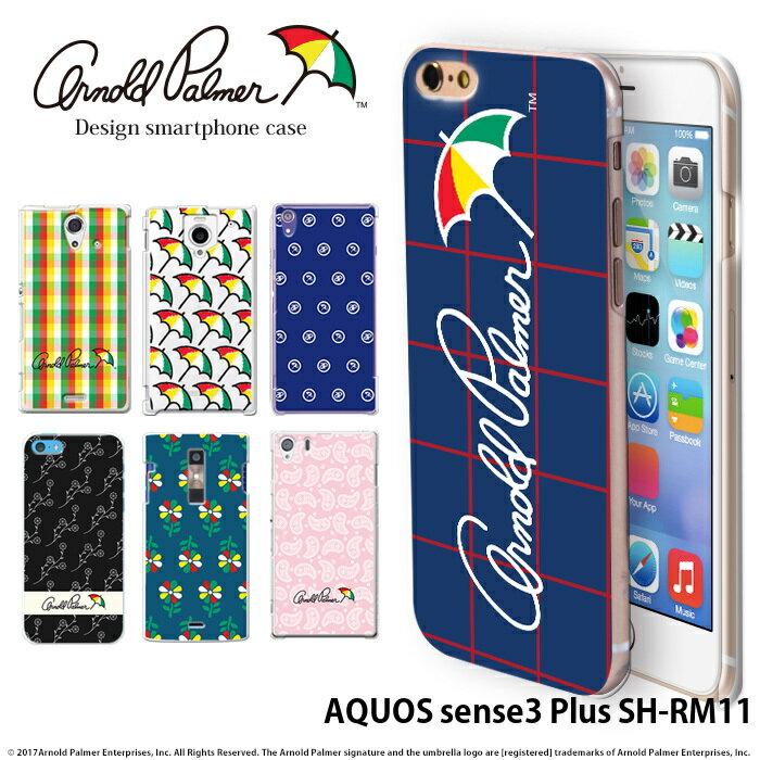 スマートフォン・携帯電話アクセサリー, ケース・カバー AQUOS sense3 Plus SH-RM11 3 arnold palmer