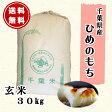 【もち米】28年産 千葉県産 ヒメノモチ 玄米 30kg