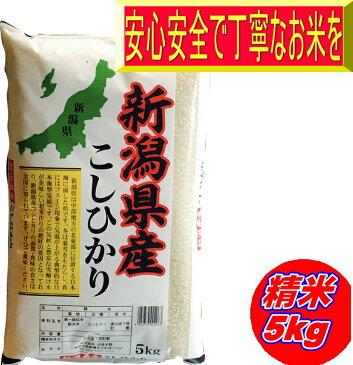 29年産 新潟県産コシヒカリ 白米5kg