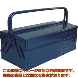 TRUSCO 2段式工具箱 472X220X289 ブルー GL470B