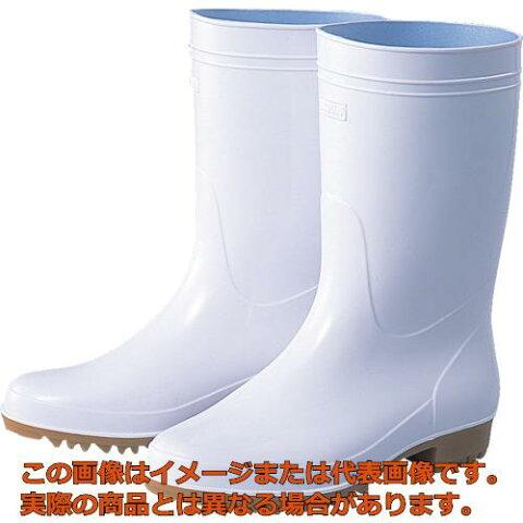 福山ゴム 耐油衛生長アメ底白26.0c TEA26.0