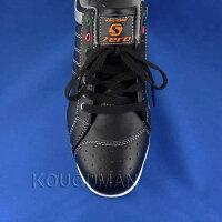 セーフティーシューズ/安全靴S-ZERO(エス・ゼロ)ローカットタイプWORKSHOMMESZ-001ブラック