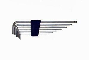エイト 六角棒レンチ(六角棒スパナ) テーパーヘッドプラスチックホルダー TLS−7 7本組