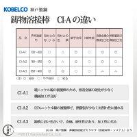 神戸製鋼鋳物用被覆アーク溶接棒CI-A1(CIA-1)φ4.0×350mmバラ売り1本